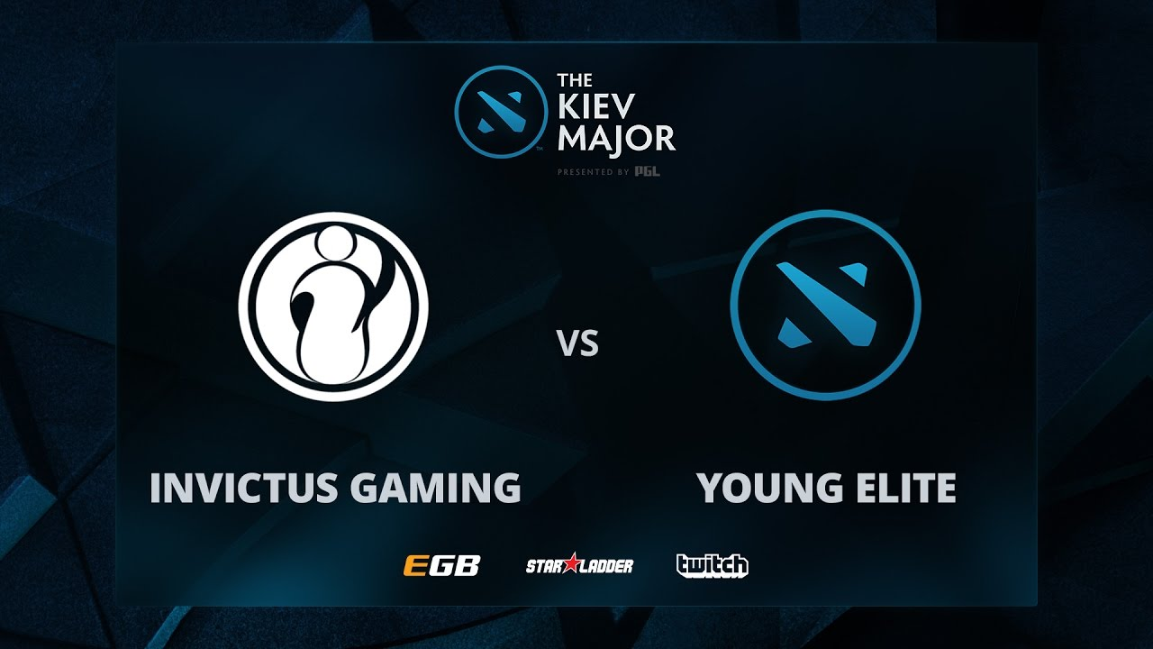 Young Elite vs Invictus Gaming, The Kiev Major CN Main Qualifiers