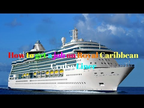 How to get an Assistant Waiter job on Royal Caribbean Cruise