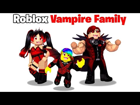 BABY Tofuu gets Adopted by VAMPIRE Family! 🧛🏻♂️🩸(Roblox)