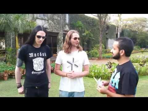 NE OBLIVISCARIS' Tim Charles & Xenoyr Discuss Debut Gig In India, 'Citadel' & Upcoming Tours (2015)