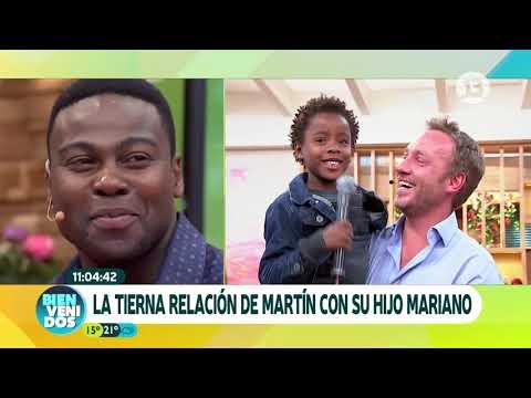 La tierna relación entre Martín y su hijo | Bienvenidos