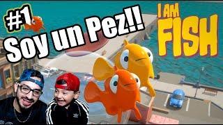 Me Convierto en Pez | Buscando a Karim en I Am Fish | Juegos Karim Juega