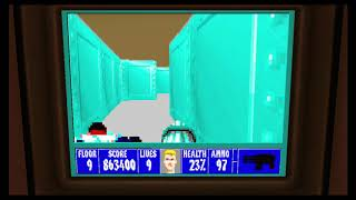 Wolfenstein 3D Episode 6 Floor 9 Final Boss Anya