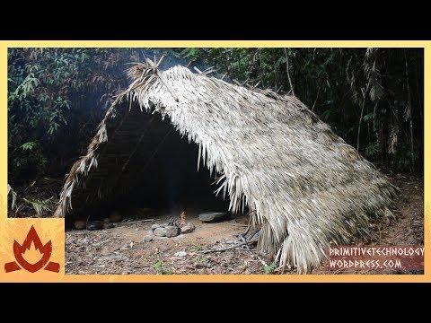Primitive technology: A frame hut