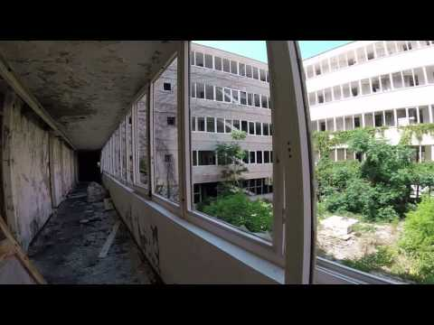 A walk among the remains of the hotels in Kupari, Croatia