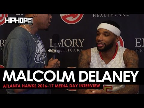 Malcolm Delaney Talks Road From Euro League, Hawks Season, & More (Atlanta Hawks Media Day)