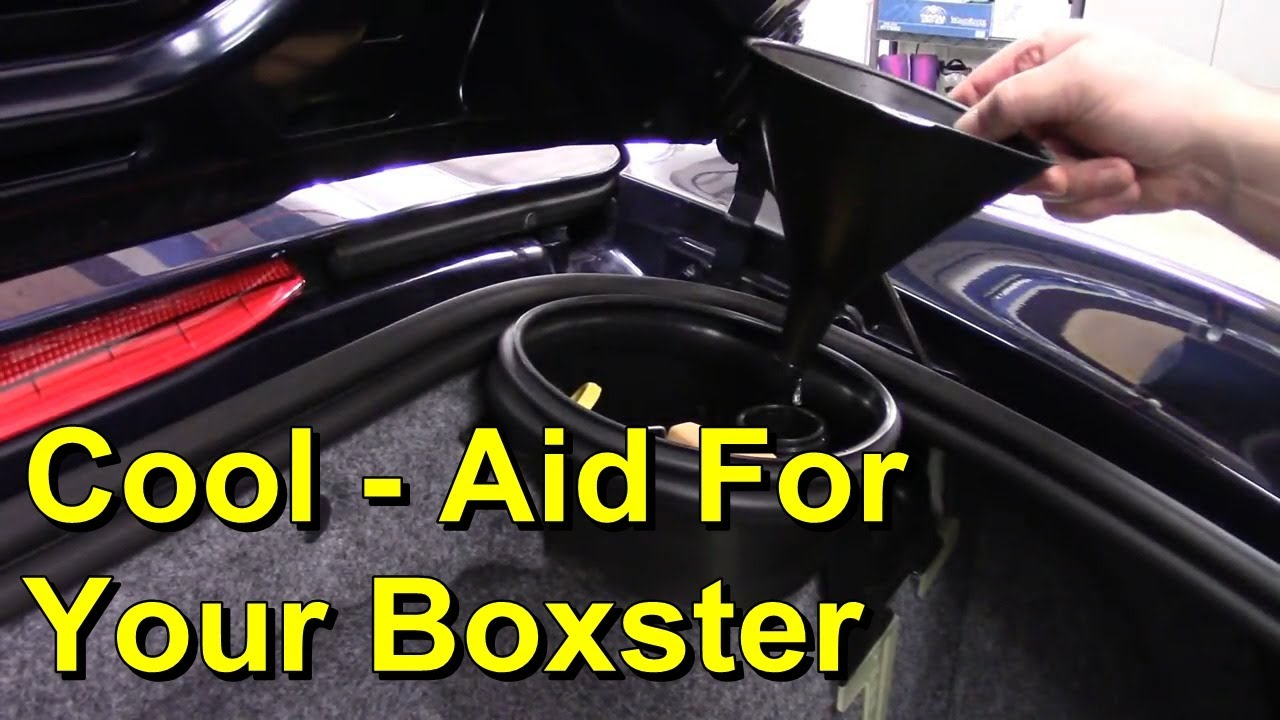 Porsche Boxster 986 Diy Coolant Change Service Youtube 2000 Engine Diagram