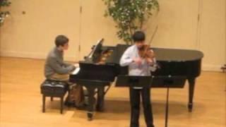Sonata for Violin and Piano in A