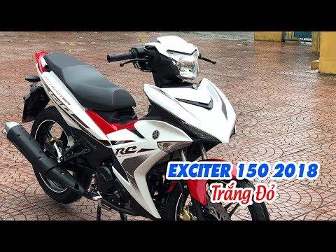 Yamaha Exciter 150 RC 2018 Trắng Đỏ ▶ Trắng Đỏ đã trở lại đúng tên!