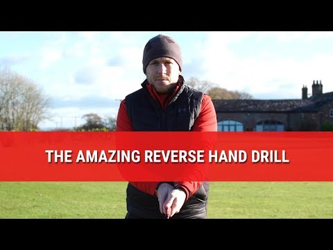 The Cack Handed Golf Drill Get Results Practicing with a Reverse Golf Grip