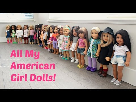 All My American Girl Dolls | Fall 2016 Collection