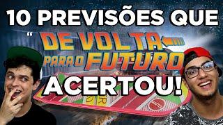 """10 PREVISÕES QUE """"DE VOLTA PARA O FUTURO"""" ACERTOU"""
