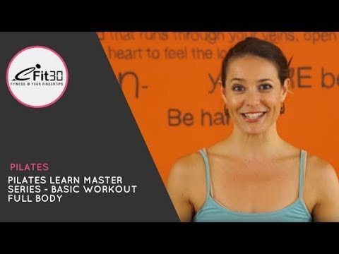 Pilates Learn Master series - Basic Workout Full Body - Gypsy - Move 123 - 동영상