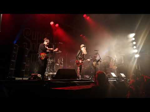 Billy Gibbons am Sierre Blues Festival mit Supersonic Bluesmachine