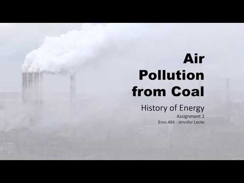 Air Pollution From Coal