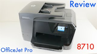hp officejet pro 8710 wireless all in one inkjet printer review