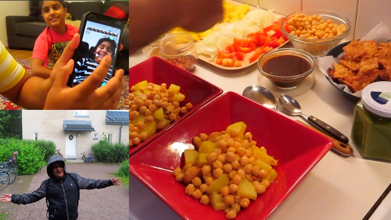 Abdul Bari Chaty hai Pura Vlog Unka hoo 🤦♀️||Chana Chaat Street Style ||Pakistani mom Vlog 2020