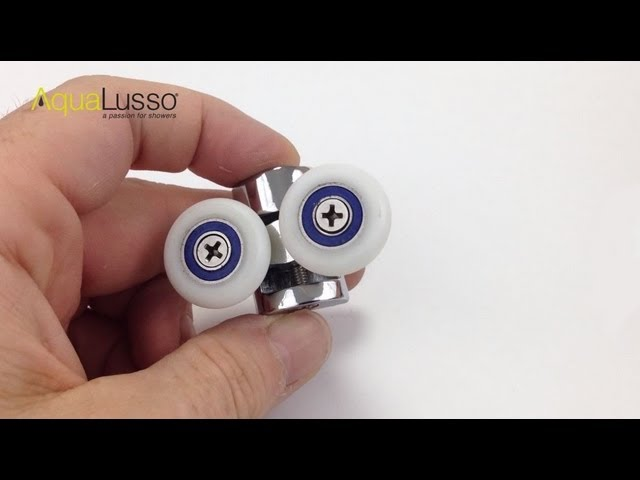 Shower Door Cam Wheels Fitting And Adjusting Youtube