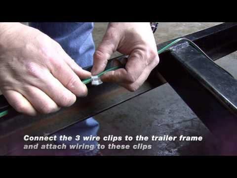 Blazer Universal Stop/Tail/Turn Light Installation - YouTube