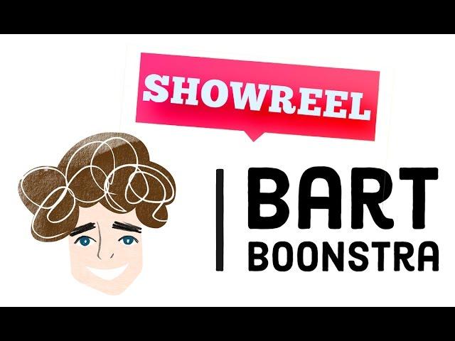 Showreel Bart Boonstra | Presentatie