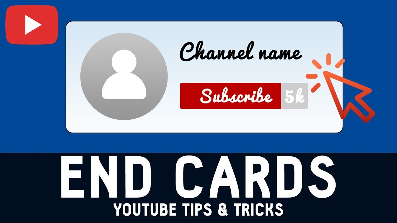 how to add new youtube end cards to videos for more subscriptions