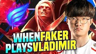 FAKER BRINGS BACK HIS VLADIMIR! - SKT T1 Faker Plays Vladimir vs Zed Mid! | Season 2020 KR SoloQ