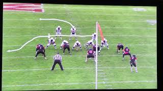 Trinity Football at Wesleyan - Film Breakdown