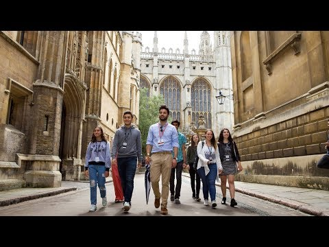Cambridge Summer School Programmes with Oxford Royale Academy