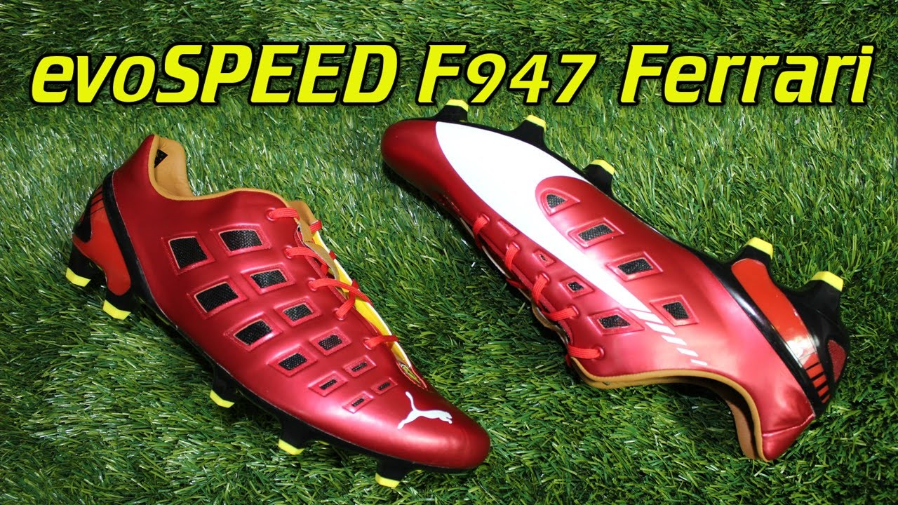 puma ferrari evospeed 1.3 f947 - review + on feet - youtube