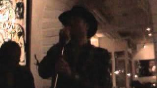 Björn Almbladh, Anton Körberg & Ryan Roxie   Ziggy Stardust   Live at Oyster Bar Stockholm  4 dec 2010
