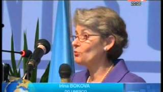 Mme Irina Bokova a procédé à l