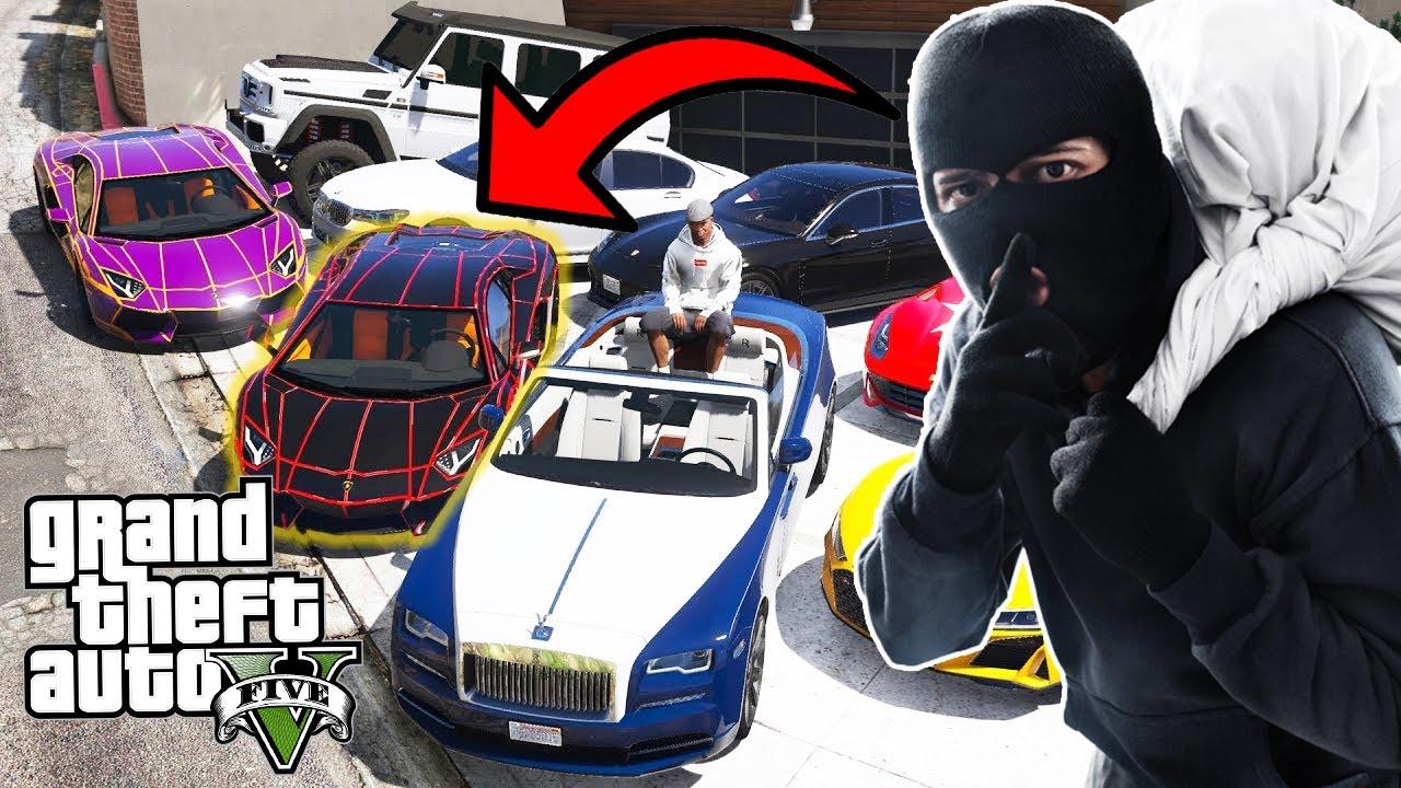 MY MILLION DOLLAR CAR GOT STOLEN !!! | GTA-V