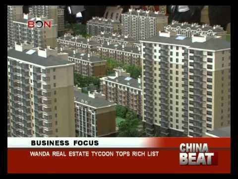 Wanda real estate tycoon tops rich list- China Beat - Oct 10 ,2014 - BONTV China