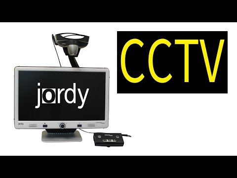 The Jordy As A CCTV , Desktop Magnifier - The Blind Life