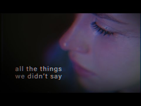 POA - all the things we didn't say (feat. Sara Mun)