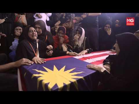MH17: Pengkebumian Jenazah Co Pilot Ahmad Hakimi Hanapi
