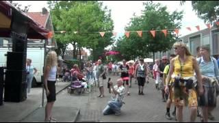 Michelle Okken 4daagse spektakel Waterkwartier Nijmegen 2015