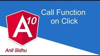 Angular 10 tutorial #8 call function | click event