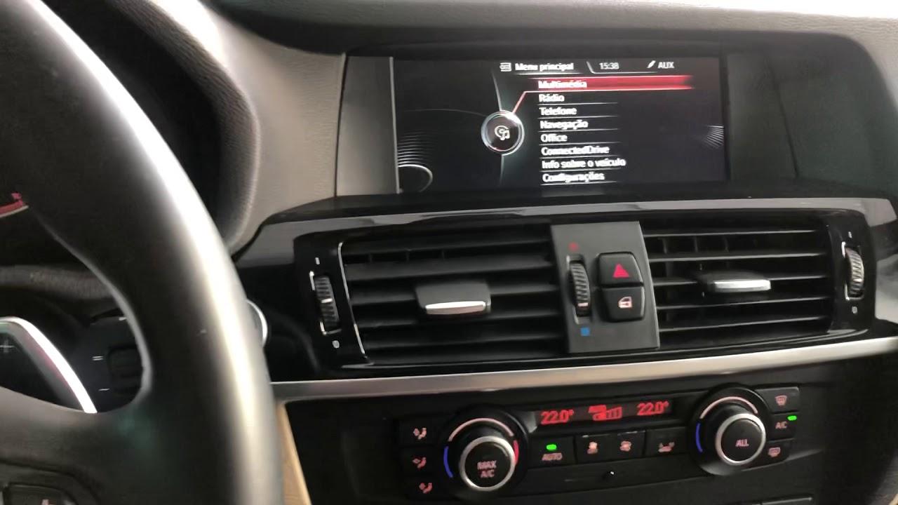 BMW X3 | 2014 - Instalacao CarPlay sem fio + Android Auto - ArtsomAuto