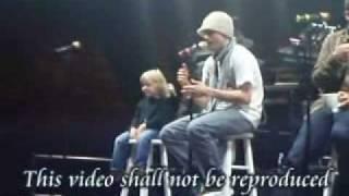 Backstreet Boys Live Sound Check Hamilton/Nick Carter/ Baylee Littrell