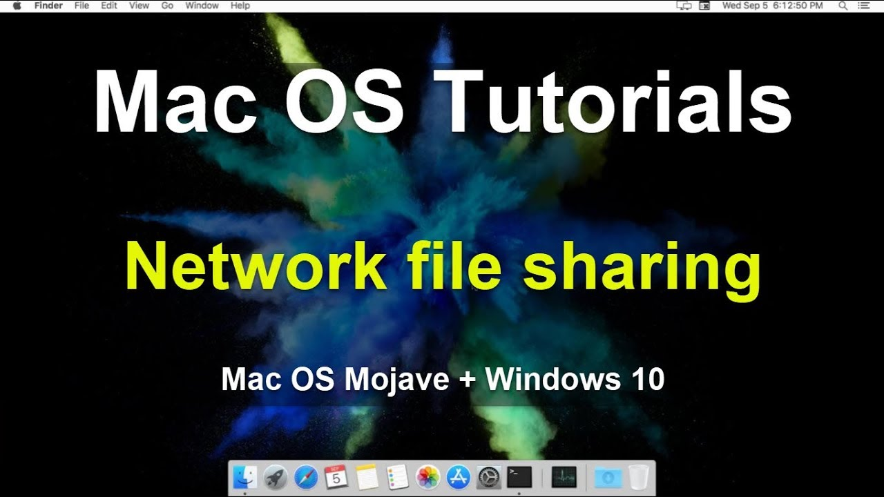 Network File Sharing: Mac OS Mojave + Windows 10 – mPossible