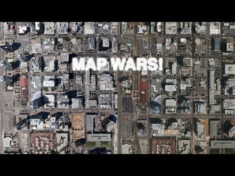 Map Wars: Apple 3D Maps (iOS 6) vs Google Earth 3D Buildings ... on world map, satellite map, google us map, from google to map, google maps car, google latitude, street view map, flat earth map, virtual earth map, europe map, google moon map, google street view, google sky, google africa map, gis map, the earth map, bing map, google maps italy, earth view map, united states map,