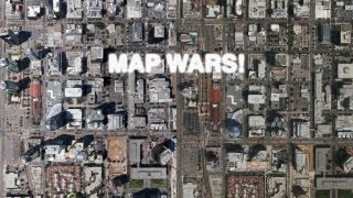 Map Wars: Apple 3D Maps (iOS 6) vs Google Earth 3D Buildings! Free HD Video