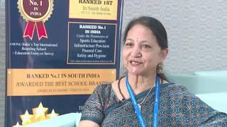 Mrs Ambuj sharma PRO/HEADMISTRESS Jain International Residential School on Spell Bee League