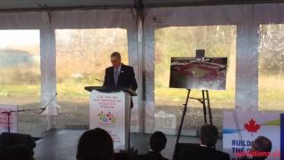York Lions | TO2015 ground breaking CIBC Pan Am and Parapan Am Athletics Stadium at York University