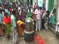 Tn telugu yuva sakthi prayers for #jayalalithaa at tirupathi