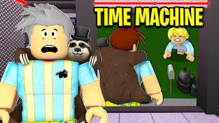 I Found A TIME MACHINE.. I Saved My BABY! (Roblox)
