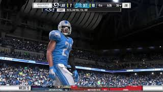 Season 15 - Week 15: Los Angeles Rams vs Detroit Lions Pt2