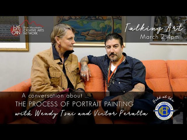 Talking Art | Podcast 05 | Victor Paralta   The Process of Portrait Painting