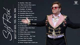 Elton John, Bee Gees, Phil Collins, Rod Stewart, Air Supply - Best Soft Rock Songs Ever